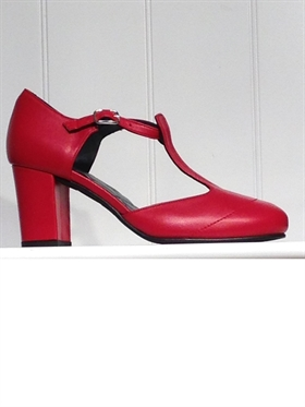 Nordic ShoePeople Liva13 red
