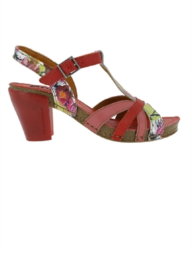 Art sandal I FEEL 0239 star flowers
