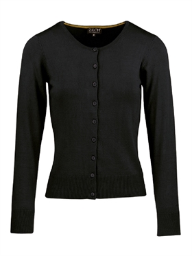 Zilch cardigan basic black